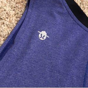 lululemon athletica Shirts - EXTREMELY RARE Lululemon Seawheeze Violet Tank M